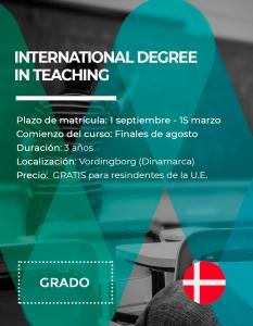 Grado internacional en Magisterio en Dinamarca